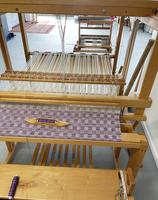Image Used Cabin Creek Swedish Style 8 shaft countermarch loom