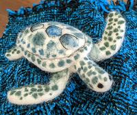 Needle Felting Sea Turtles