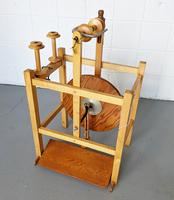 Image Used Canadian Box Spinning Wheel