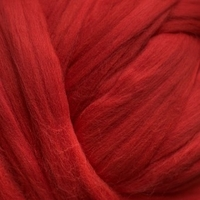 Image Red  Colored Merino