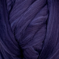 Image Navy  Colored Merino