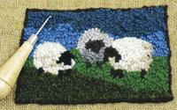 Image Traditional Rug Hooking Kit